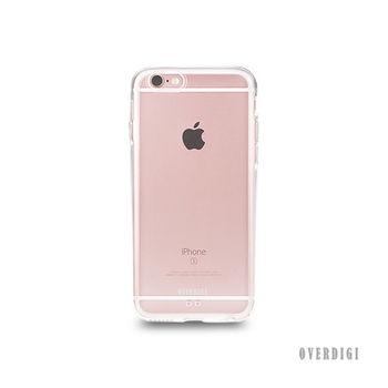 OVERDIGI Aurora iPhone6(S) 全包覆保護殼 透明-行動
