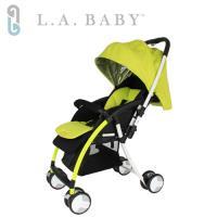 美國 L.A. Baby  超輕量雙向全罩嬰幼兒手推車 Travelight Baby Stroller (綠色)