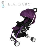 美國 L.A. Baby  超輕量雙向全罩嬰幼兒手推車 Travelight Baby Stroller (紫色)