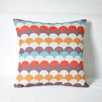 【協貿】簡約現代幾何風格英倫抽象棉麻抱枕含芯