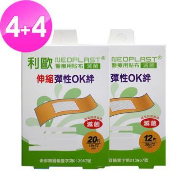 貝斯康 醫療用貼布傷口貼(伸縮布)(滅菌)(OK絆) M-80片L-48片