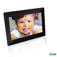 逸奇e-Kit  10吋高品質黑數位相框電子相冊(黑色款) DF-F024_BK