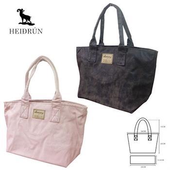 【HEIDRUN海蒂倫】MIT麂皮質感手提包 軟包/水餃包/便當袋/午餐外出袋/外出包