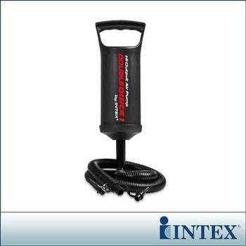 【INTEX】手壓充氣幫浦/打氣筒-高29cm (68612)-行動