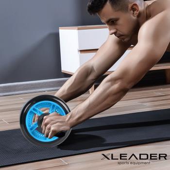 【Leader X】超靜音滾輪健身器/健腹器/滾輪