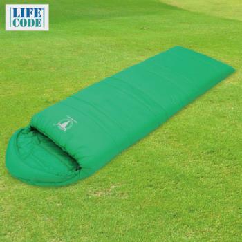 【APC】馬卡龍秋冬可拼接全開式睡袋-蘋果綠-行動