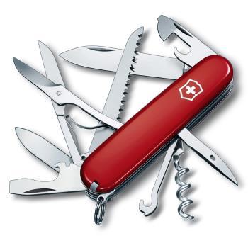 VICTORINOX 瑞士維氏狩獵者16用瑞士刀-紅 13713