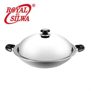 皇家西華五層複合金雙耳炒鍋40cm