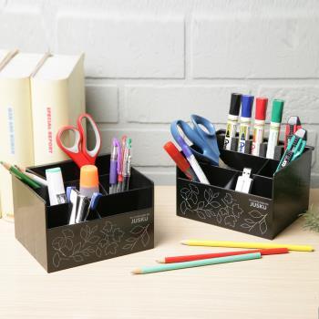 《真心良品》小花車多用途收納置物盒3入