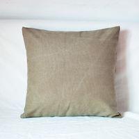 【協貿】簡約現代宜家牛仔布卡其沙發方形抱枕含芯