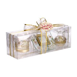 【Madiggan貝斯麗】玫瑰系列手工彩繪迷你三件小禮盒(紫色.金黃.粉紅可選)
