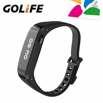 GOLiFE Care-X 時尚生活智慧手環-黑色(贈悠遊卡錶帶+3禮)