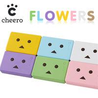 日本cheero花系列阿愣10050mAh行動電源.2A快速充電[6色]-行動