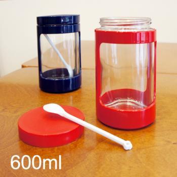 京都收纳罐 玻璃罐 600cc
