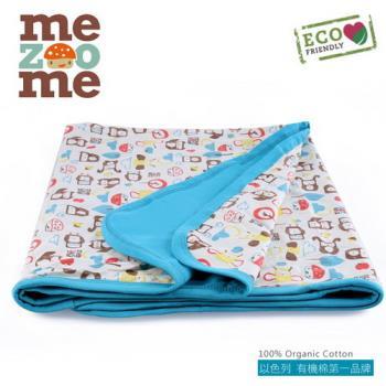以色列mezoome有機棉被毯-舒適被(土耳其藍)