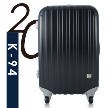 Ambassador安貝思德 K94夢想家 20吋 可加大 行李箱 旅行箱(藍)