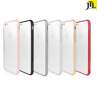 JTL iPhone 6/6S 極薄金屬航太鋁合金保護邊框-行動