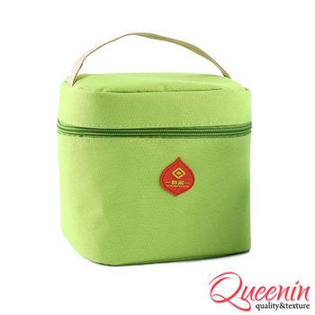 DF Queenin日韓 - 野餐生活新樂趣輕便式保冷保溫袋-共4色