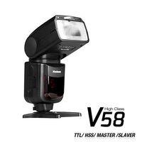 Voeloon 偉能 V58 機頂閃光燈 高速同步 TTL (公司貨)Canon / Nikon