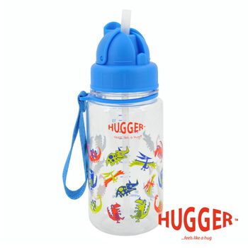 英國Hugger Tritan彈跳吸管水壺 (酷比龍)