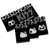 kiss hello kitty可愛圖騰繡花毛巾33cm*77cm