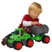 【德國BIG】工程車系列-拖車頭+油罐子車組