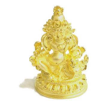 【十相自在】6公分 小佛像/法像-金色(黃財神)