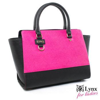 Lynx - 山貓知性名媛真皮系列2way式變形包-共2色