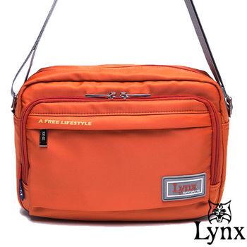 Lynx - 山貓城市悠遊款輕便機能橫式側背包-共4色
