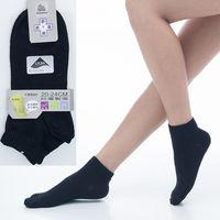 【KEROPPA】可諾帕舒適透氣減臭超短襪x黑色兩雙(男女適用)C98005