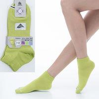 【KEROPPA】可諾帕舒適透氣減臭加大超短襪x芥末綠兩雙(男女適用)C98005-X