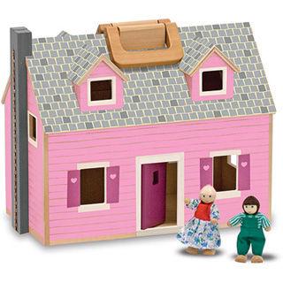 【美國 Melissa&Doug】經典系列-手提娃娃屋 MD3701