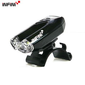 【INFINI】LAVA I-260W 2白光LED警示高亮度4模式前燈/台灣製-黑色