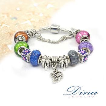DINA JEWELRY蒂娜珠寶 繽紛甜心 潘朵拉風格 設計手鍊