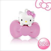 Hello Kitty 32GB 蝴蝶結系列造型隨身碟-珠光粉