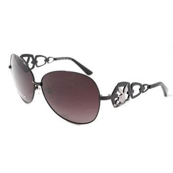 PLAYBOY-時尚太陽眼鏡(黑色)PB81073