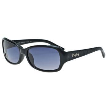 PLAYBOY-時尚太陽眼鏡(黑色)PB83042