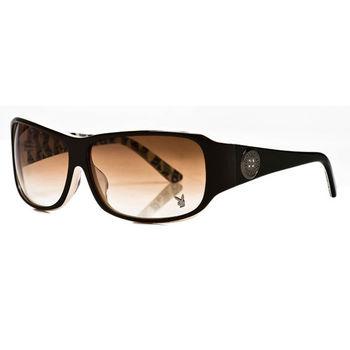 PLAYBOY-時尚太陽眼鏡(咖啡色)PB83035