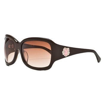 PLAYBOY-時尚太陽眼鏡(咖啡色)PB83019
