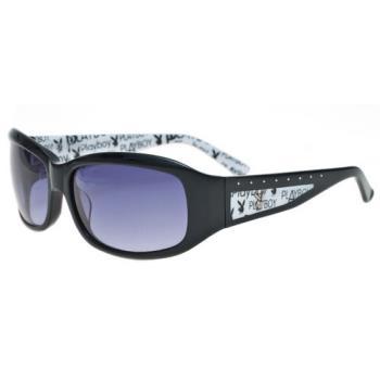 PLAYBOY-時尚太陽眼鏡(黑色)PB83011