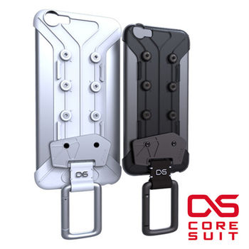 CORESUIT CARABINER 風格手機扣環 + iPhone 6/i6s 手機殼