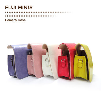 FUJIFILM mini 8 拍立得專用皮質相機包