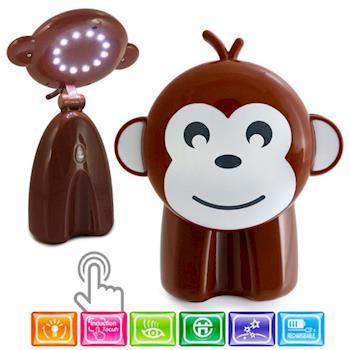 LED 節能樂樂猴觸控造型檯燈/閱讀燈/UL-636/棕色