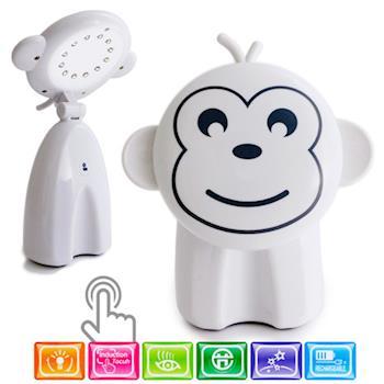 LED 節能樂樂猴觸控造型檯燈/閱讀燈/UL-636/白色