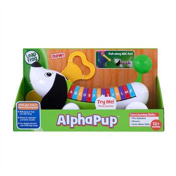 《LeapFrog 跳跳蛙》美國跳跳蛙LeapFrog-彩虹字母小狗(綠)★原廠優質玩具