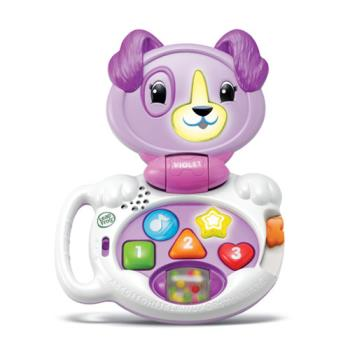 《LeapFrog 跳跳蛙》美國跳跳蛙LeapFrog-我的專屬對話小狗(紫)-VIOLET★原廠優質玩具