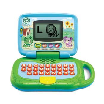 《LeapFrog 跳跳蛙》美國跳跳蛙LeapFrog-我的小筆電(綠)★原廠優質玩具