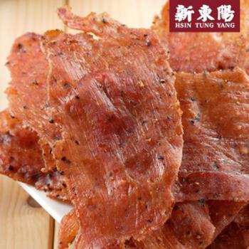 任-【新東陽】黑胡椒薄片豬肉乾170g