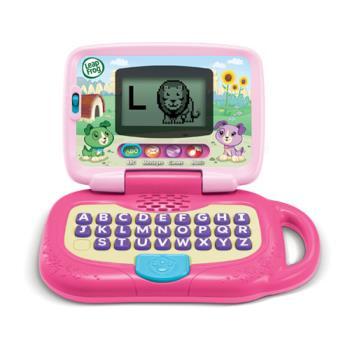 《LeapFrog 跳跳蛙》美國跳跳蛙LeapFrog-我的小筆電(粉)★原廠優質玩具