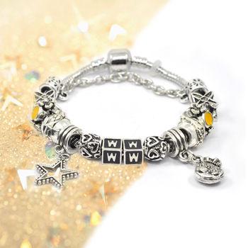 DINA JEWELRY蒂娜珠寶    耀眼金星 潘朵拉風格 設計手鍊